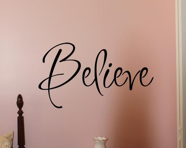 Inspiration Believe Wall Decal