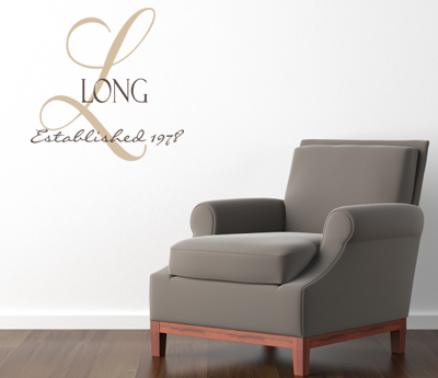 Family Name Established Wall Decal