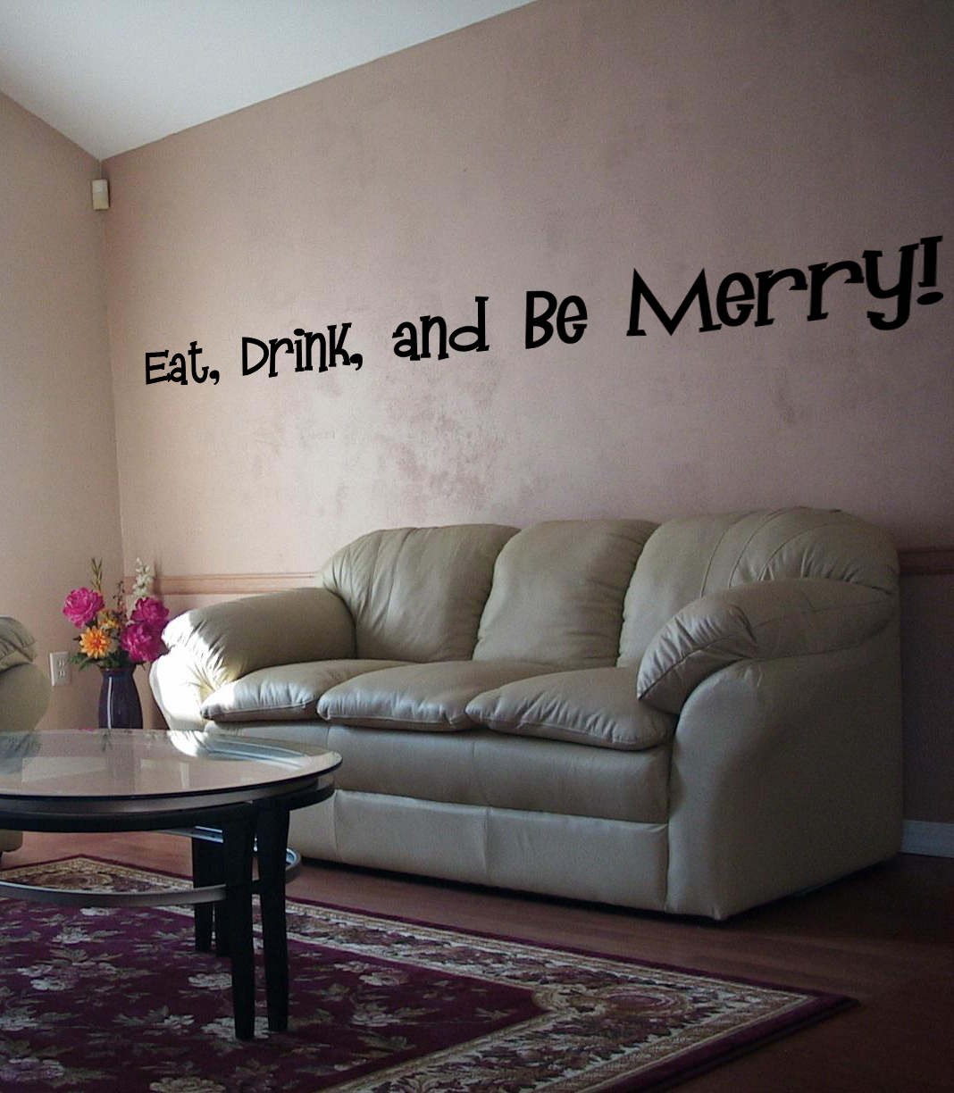 Eat Drink Merry Decal Wall Decal