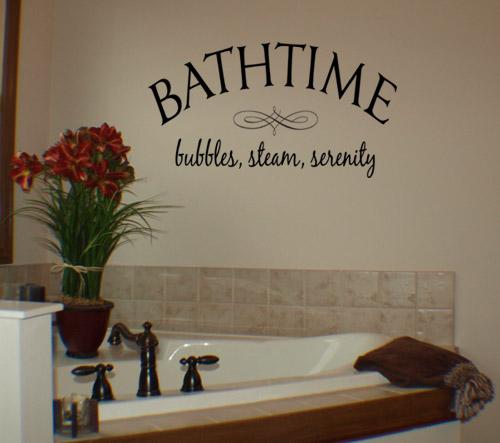 Bathtime Wall Decal