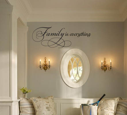 Family is Everything Wall Decal