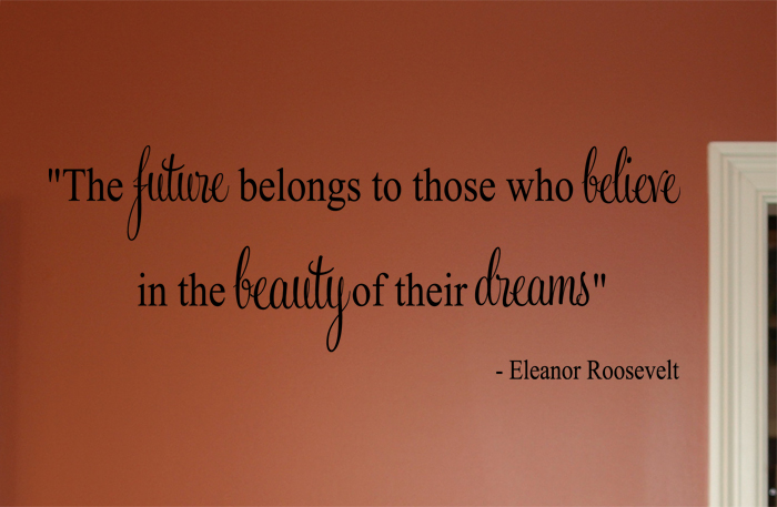 Eleanor Roosevelt Wall Decal