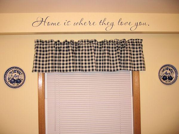 Home Love Wall Decal