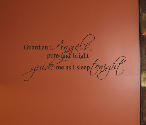 Guardian Angel Wall Decals
