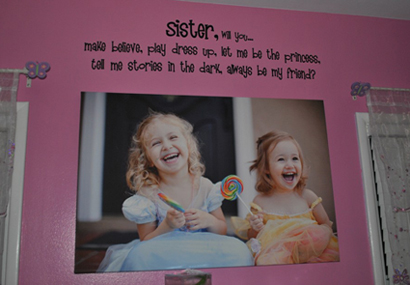 Sister Wall Decal