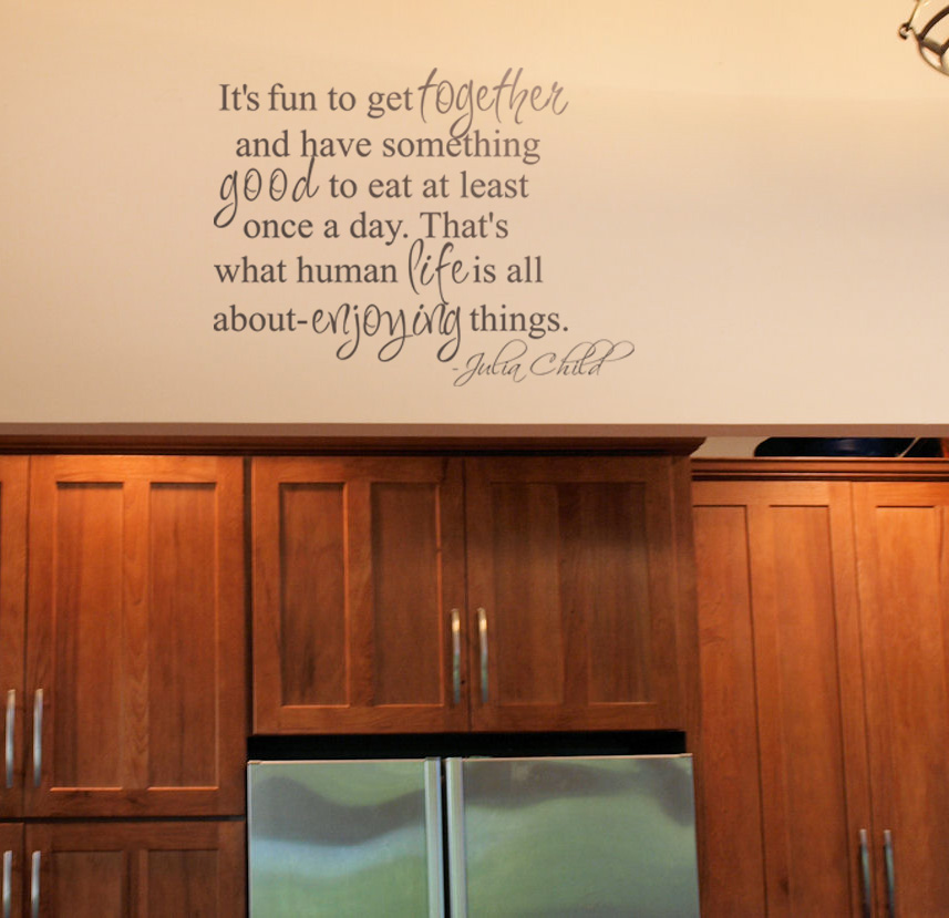 Julia Child Quote Wall Decals