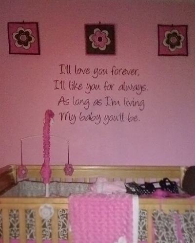 My Baby Wall Decal