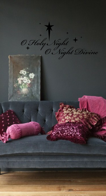 O Holy Night | Wall Decals