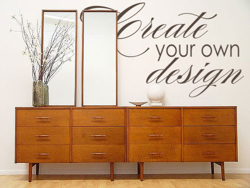 customer created design skip the design step and create your own custom and unique wall decal - Wall Stickers Design Your Own