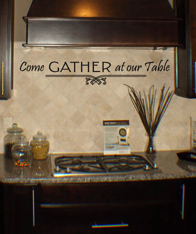 Come Gather Wall Decal
