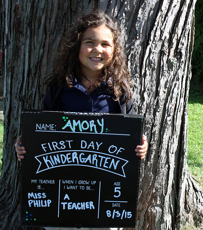 First Day of School Sign DIY
