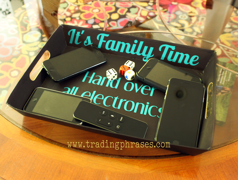 Family Time Decal