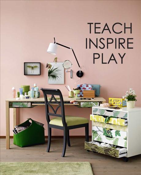 Teach Inspire Play Wall Decal