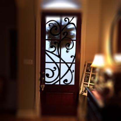 Front Glass Door Design