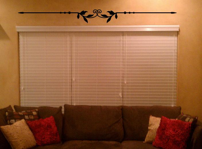 Leaf Line Wall Decal