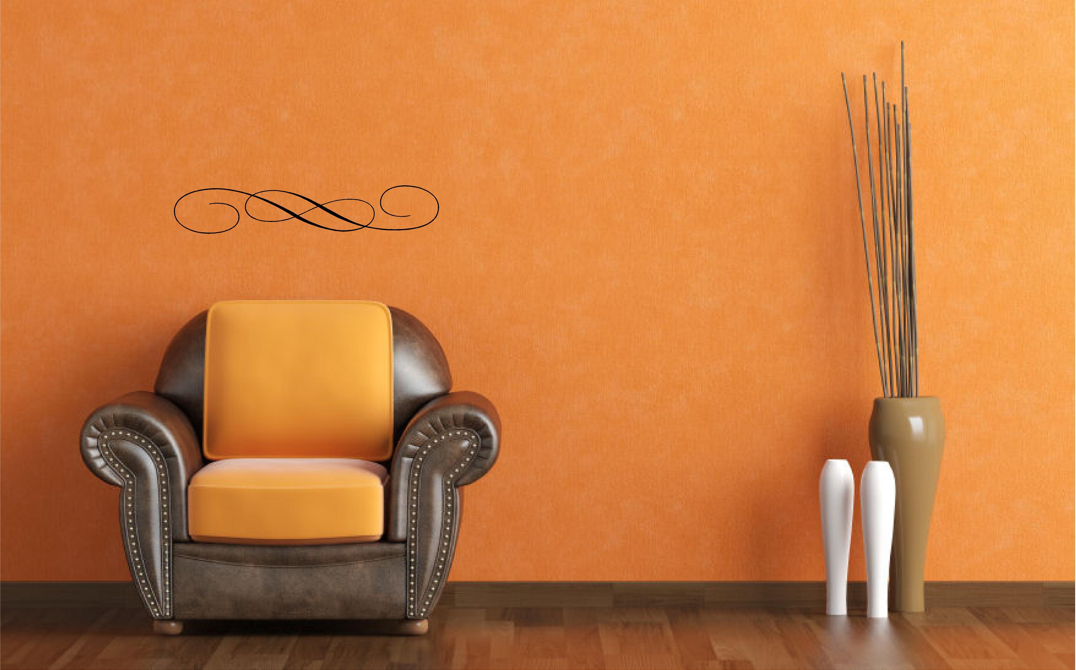 Embellishment Flourish1 Wall Decal