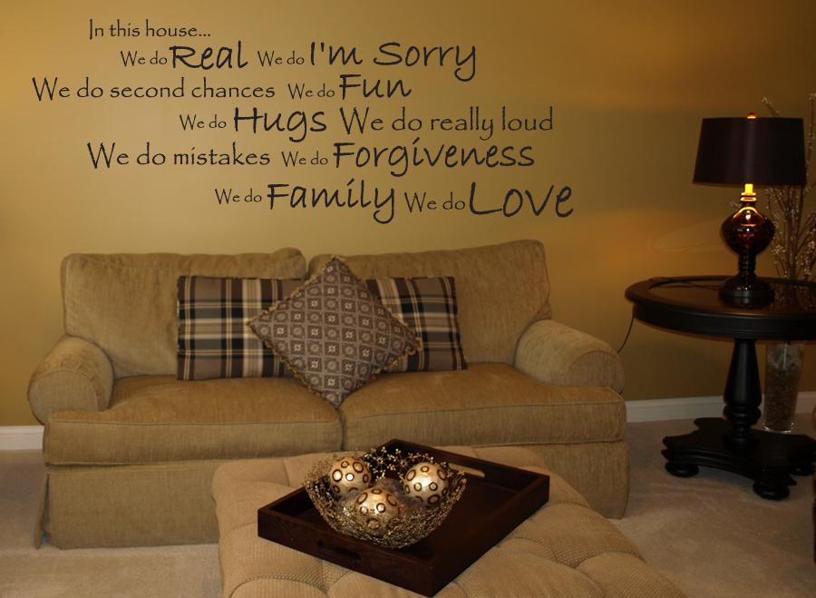 We Do Love Wall Decal