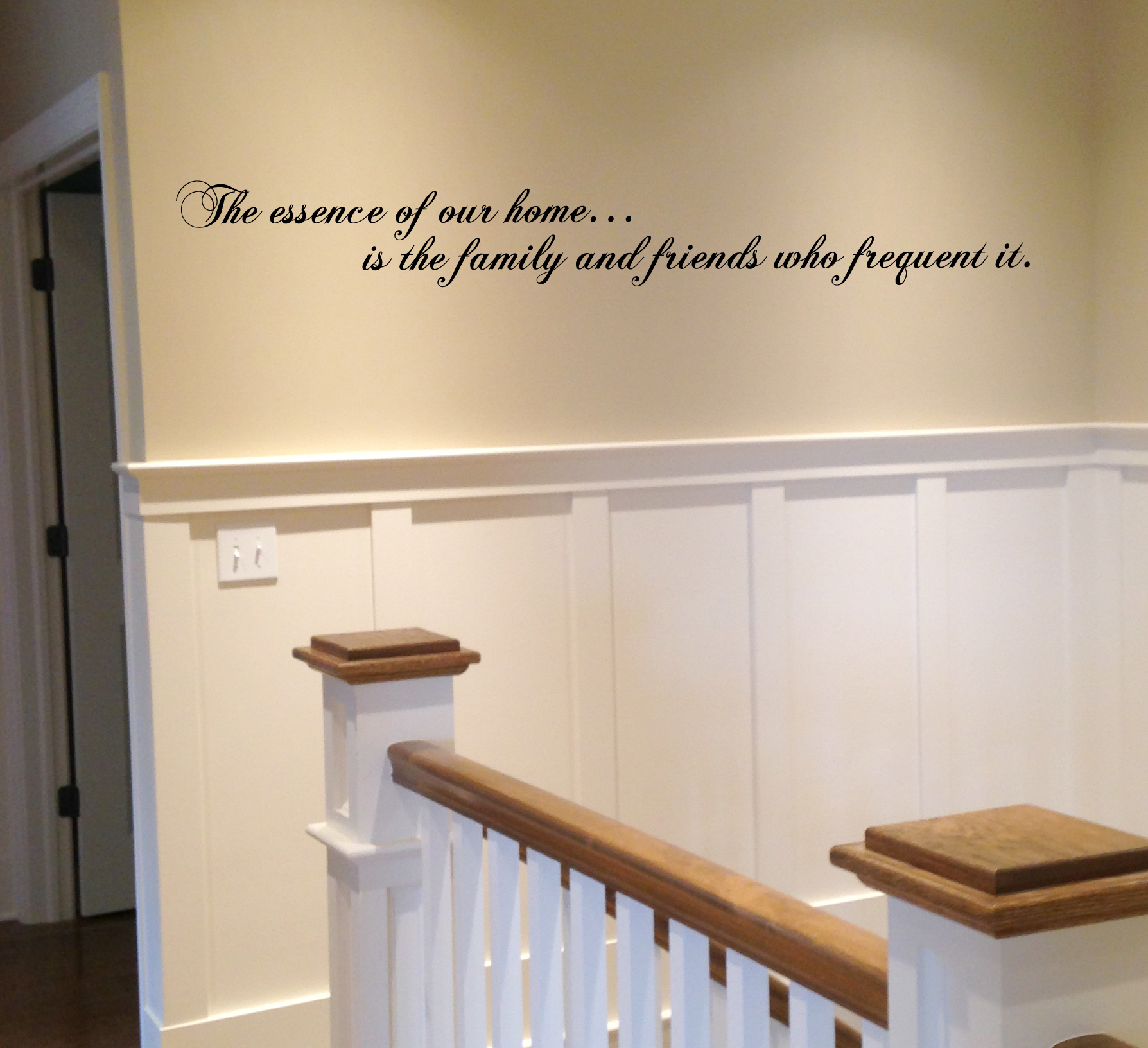 The Essence of our Home Wall Decal