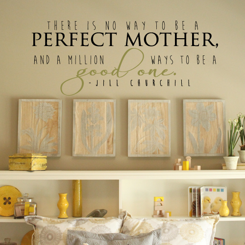 Good Mother Wall Decal