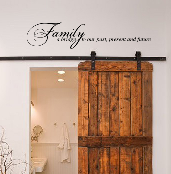 Family: A Bridge Wall Decal