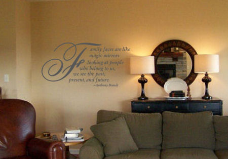 Family Faces Wall Decal