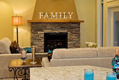 Family Together We Have It All Wall Decal