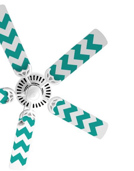 Chevron Fan Blade Decals