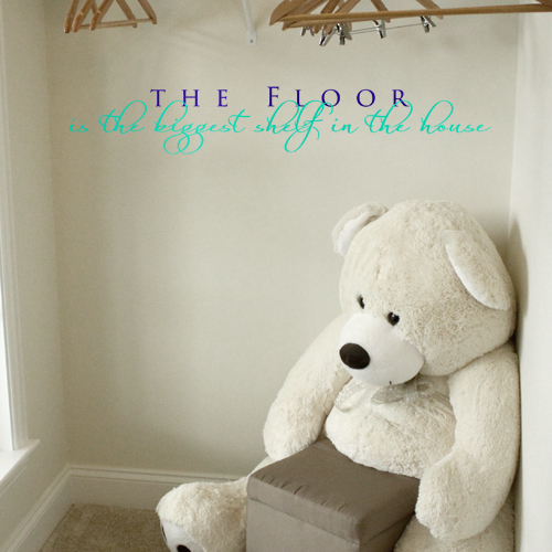 The Floor Wall Decal