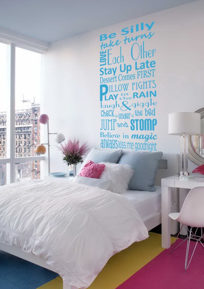 Be Silly Take Turns Wall Decal
