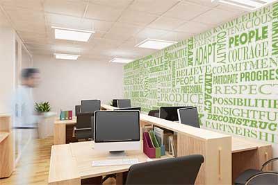 Business Motivational Word Wall