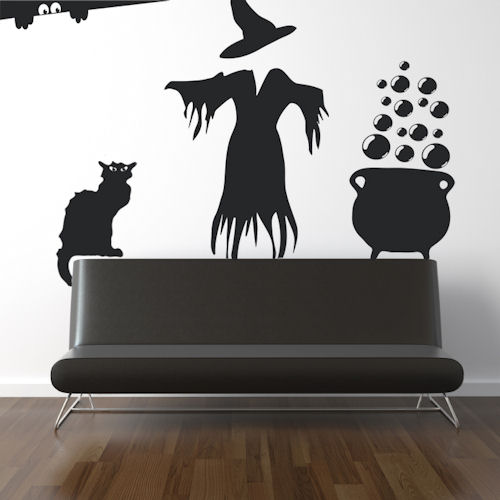 Witch Pack Wall Decal