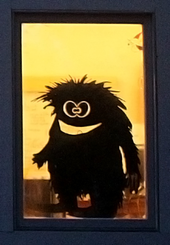 Harry Window Monster - Wall or Window Decal