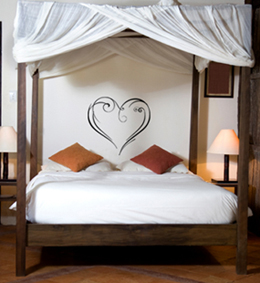 Stylized Heart Artistic Wall Decal