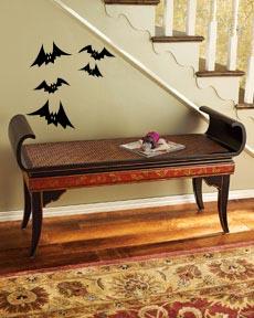 Bat Group Halloween Wall Decal