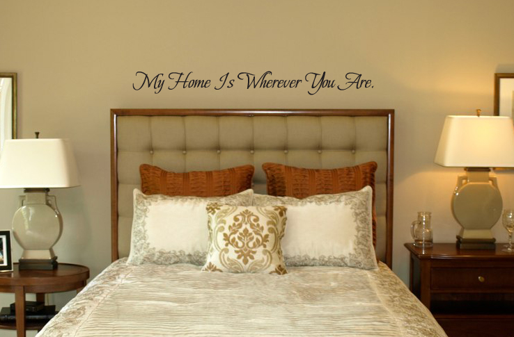Wherever You Are Wall Decal