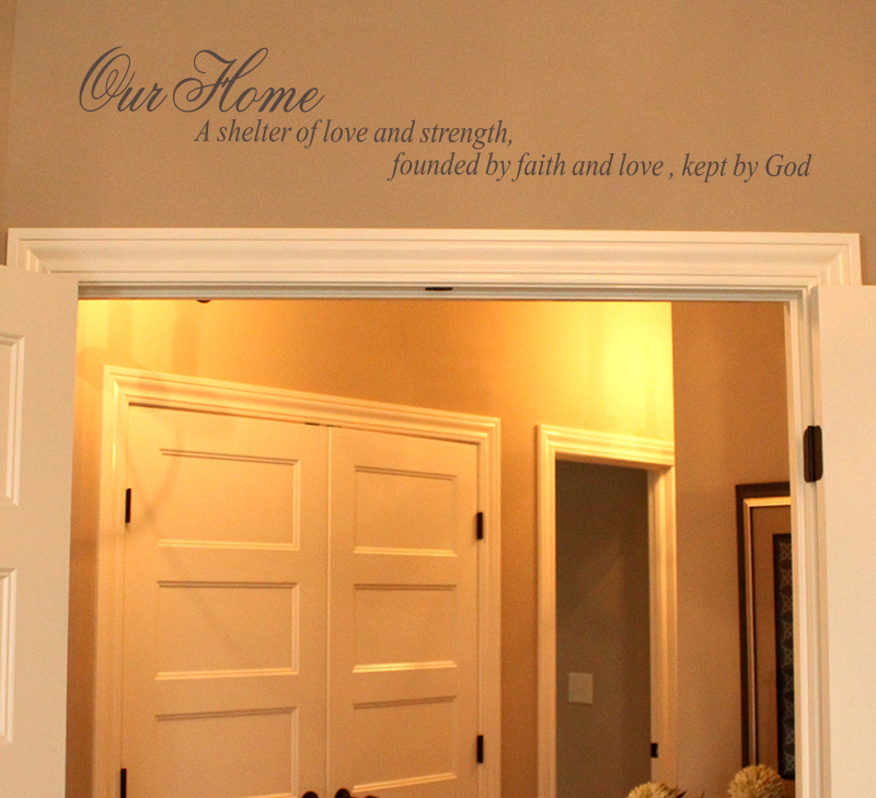 Shelter Wall Decal