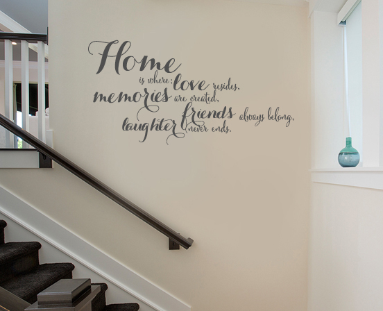 Love Resides Wall Decal