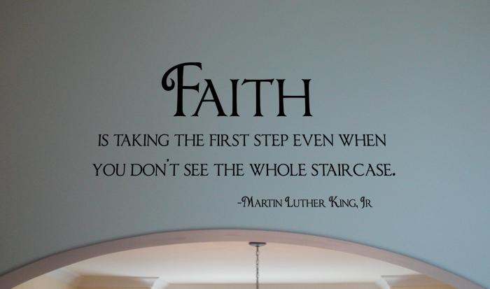 Faith - Martin Luther King Jr.