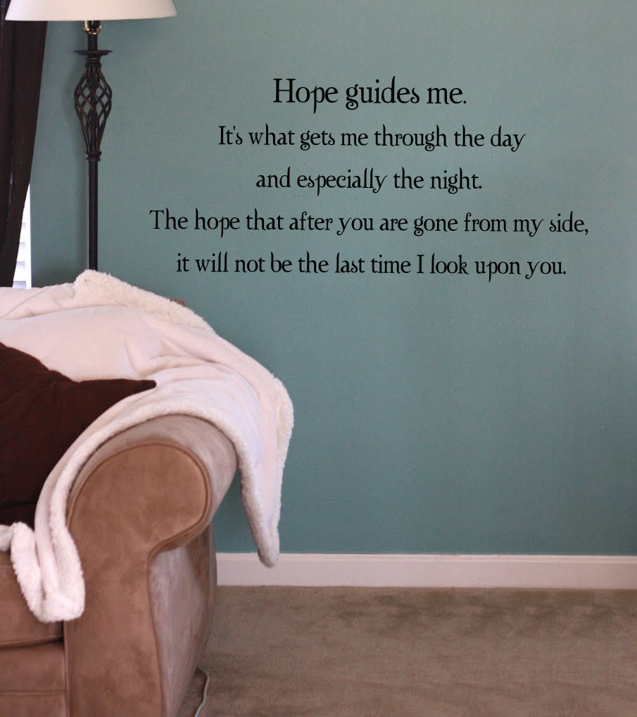 Hope Wall Decal