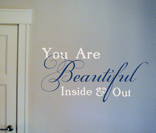 You are Beautiful Wall Decal