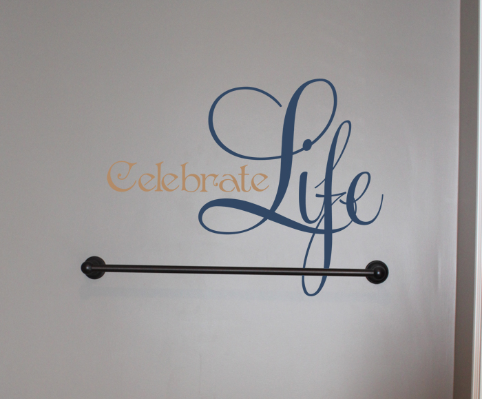 Celebrate Life Wall Decal