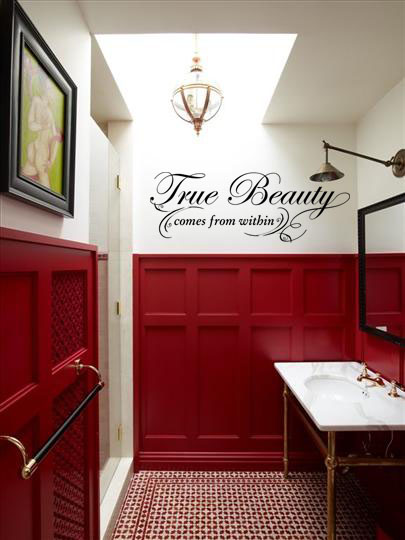 True Beauty Within Wall Decal