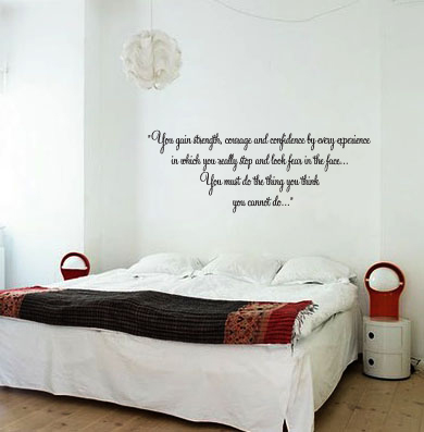 You Must Do Wall Decal