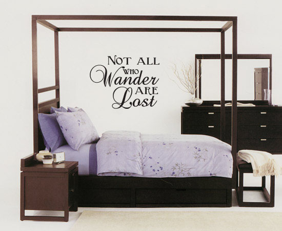 Wander Lost Wall Decal