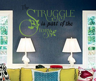 The Story Wall Decal