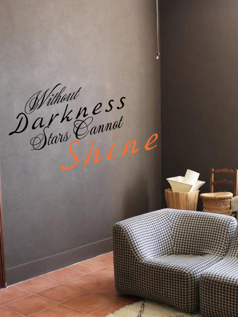 Without Darkness Stars Cannot Shine