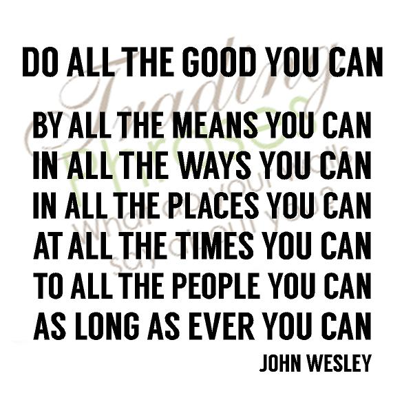 Do All The Good Wall Decal