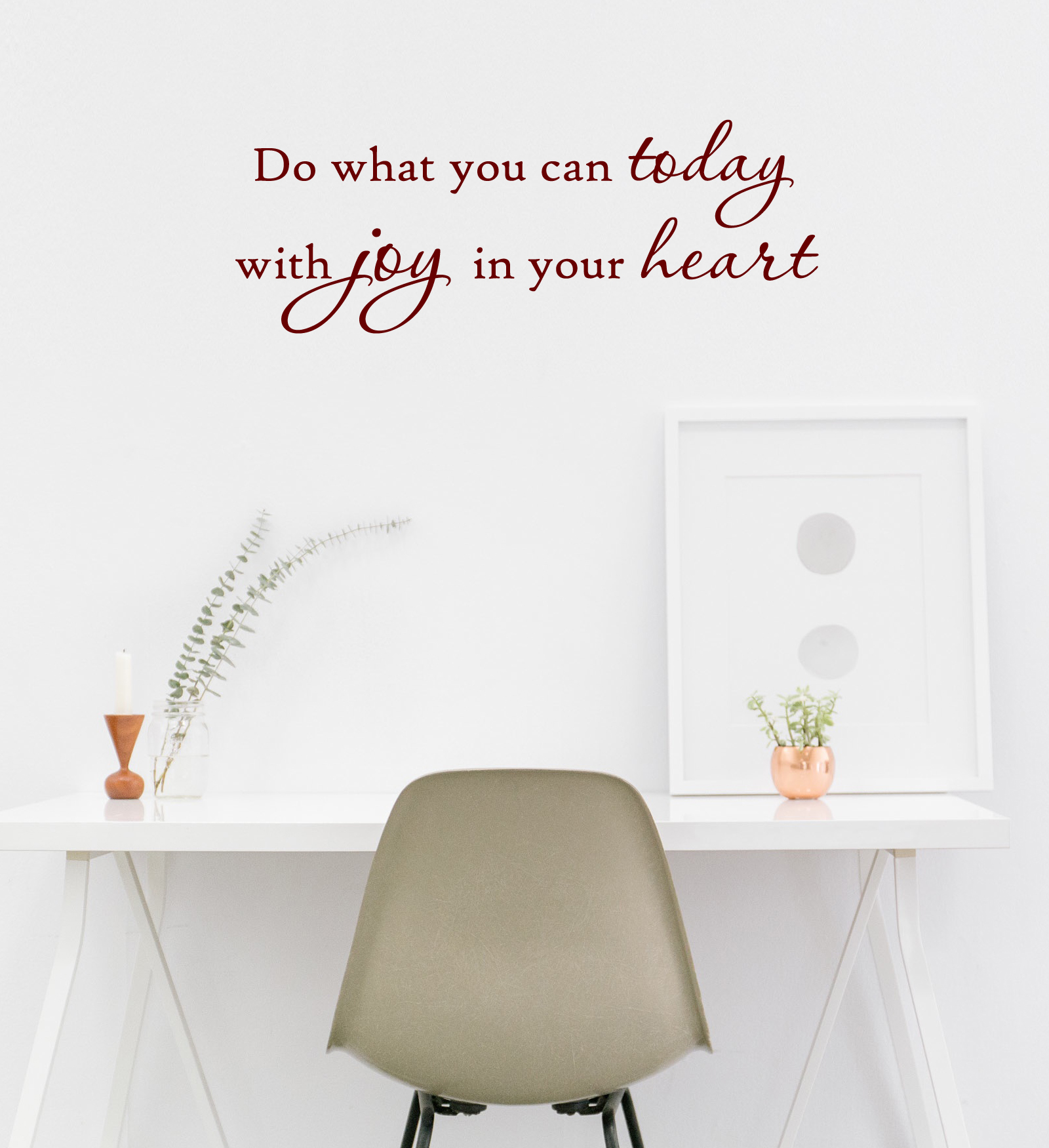 Joy In Your Heart Wall Decal