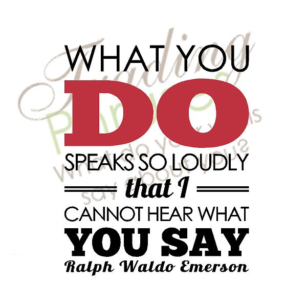 What You Do Wall Decal