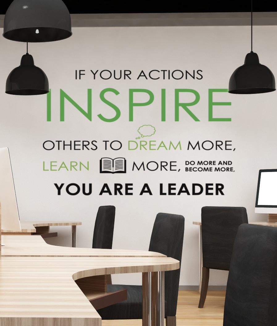 Inspire Leader Decal